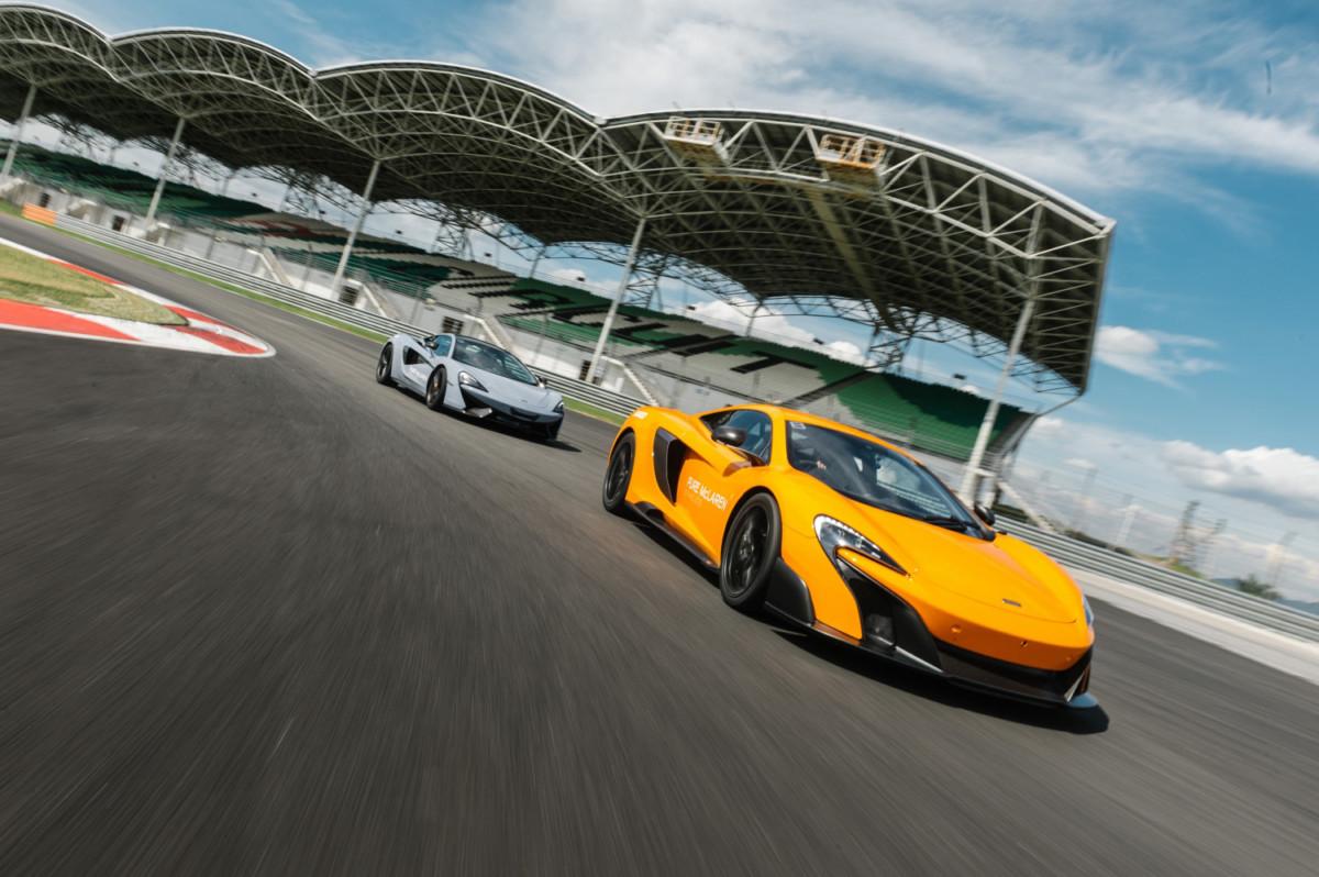 Pure McLaren Academy 2017: il programma