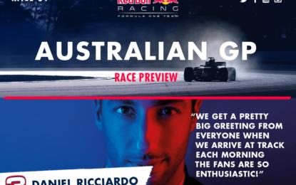 GP Australia: la Red Bull dà il via alle danze