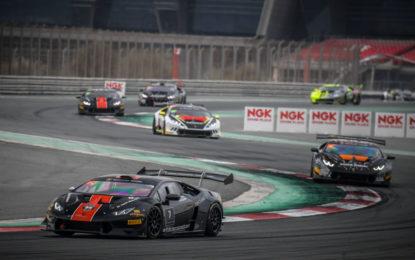 I campioni 2017 del Lamborghini Super Trofeo Middle East