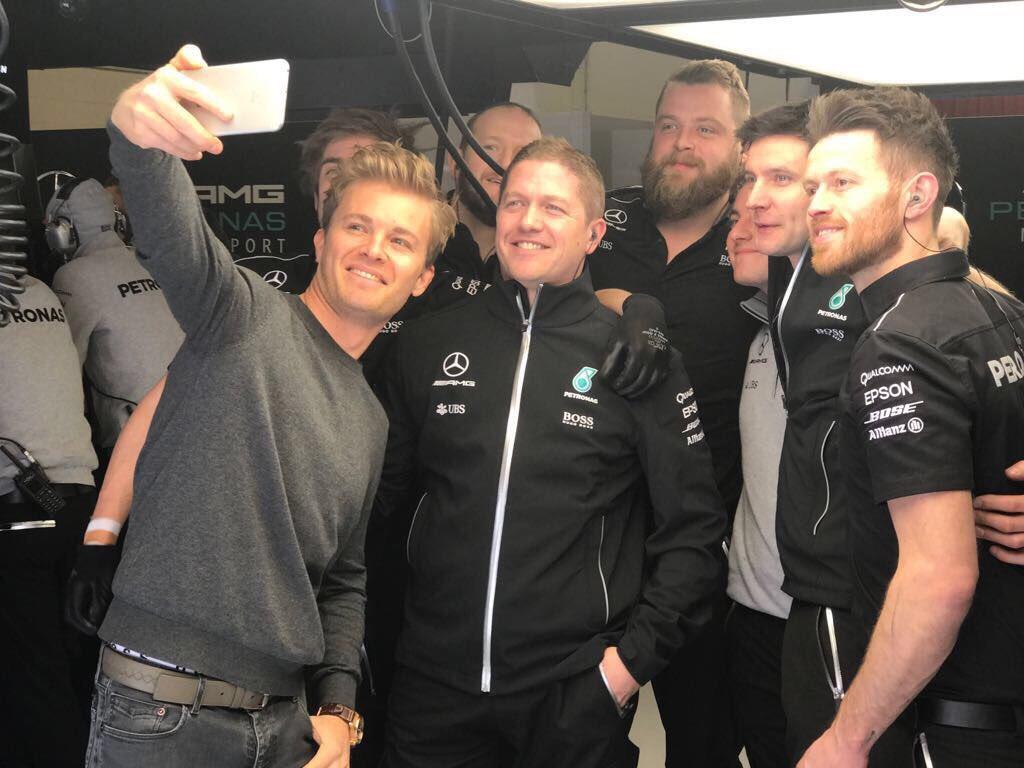 Lauda sorpreso da Rosberg ai test. Ma non tornerà in F1