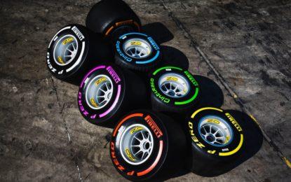Pirelli pensa a una sesta mescola F1 per il 2018?