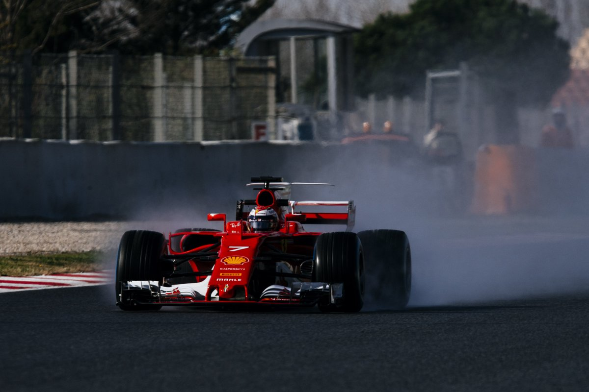 Test Day 4: la Ferrari di Raikkonen davanti a tutti
