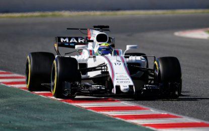 Test F1: Massa domina la prima giornata