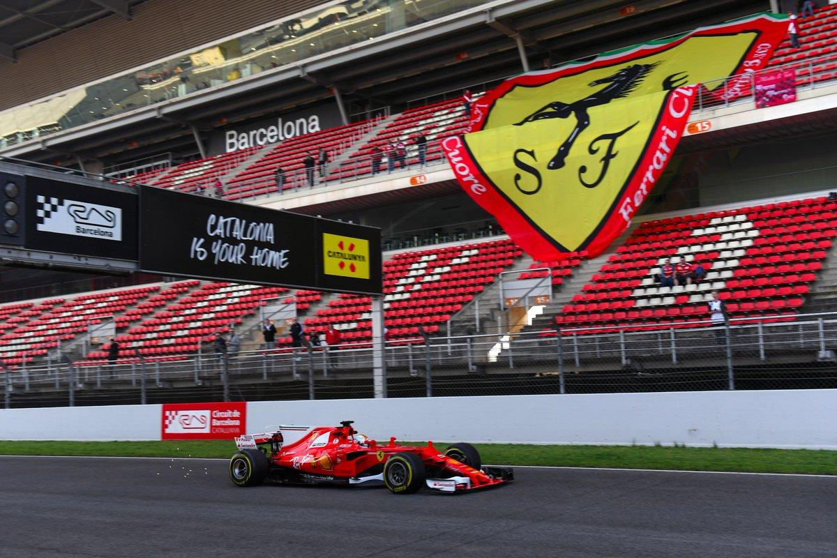 Test F1: Vettel e Ferrari da record nel penultimo giorno