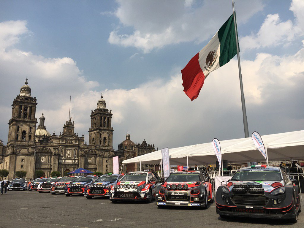 Su Fox Sports via al Rally del Messico