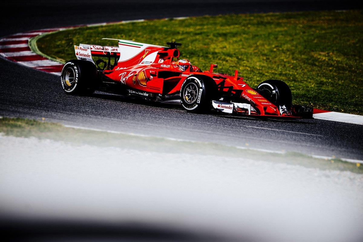 Test F1: Ferrari e Raikkonen chiudono con il giro record