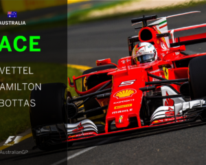 Breaking news: Vettel vince in Australia davanti a Hamilton e Bottas