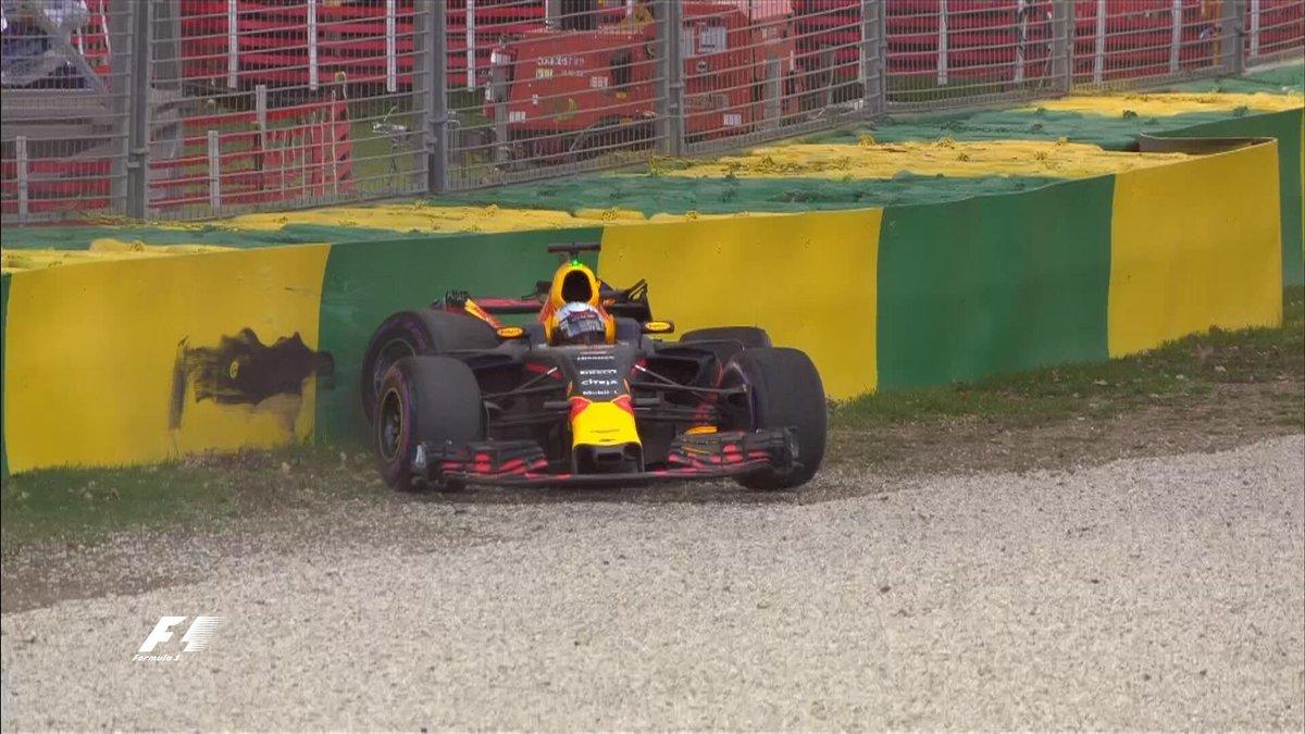 Ricciardo deluso per l'errore, ma per domani ci crede