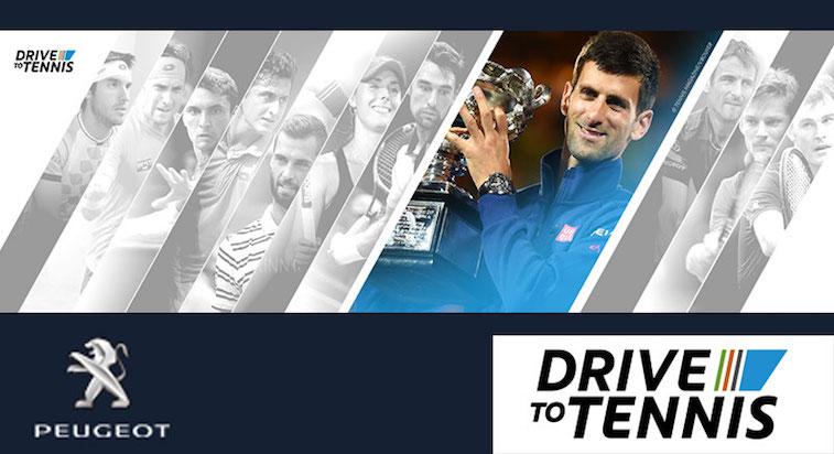 Peugeot auto ufficiale degli Internazionali di tennis