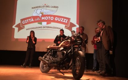 Presentato il 96° Motoraduno Città della Moto Guzzi