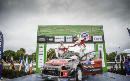 Messico: primissima vittoria per la C3 WRC