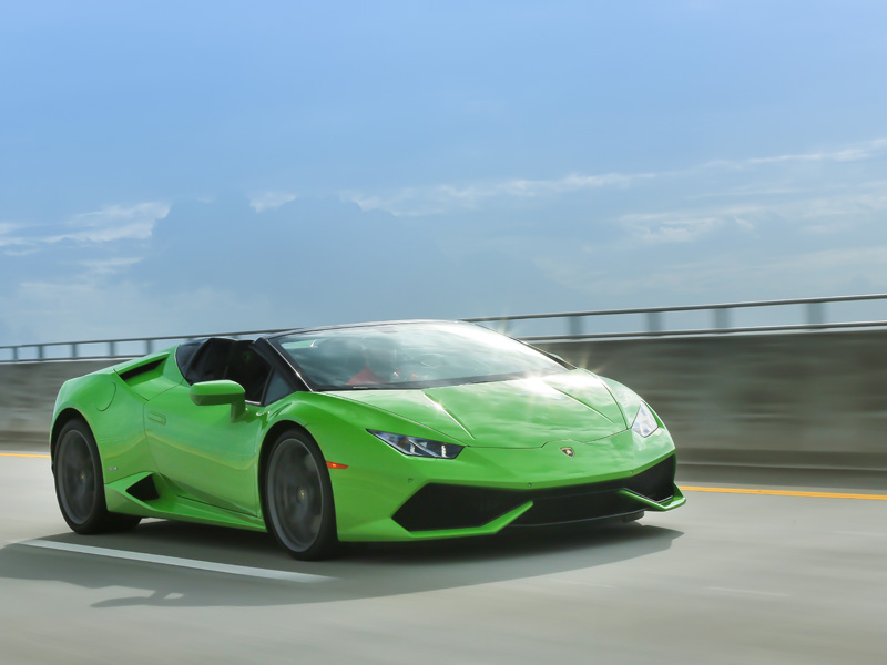 Lamborghini Huracán Spyder Car of the Year 2017