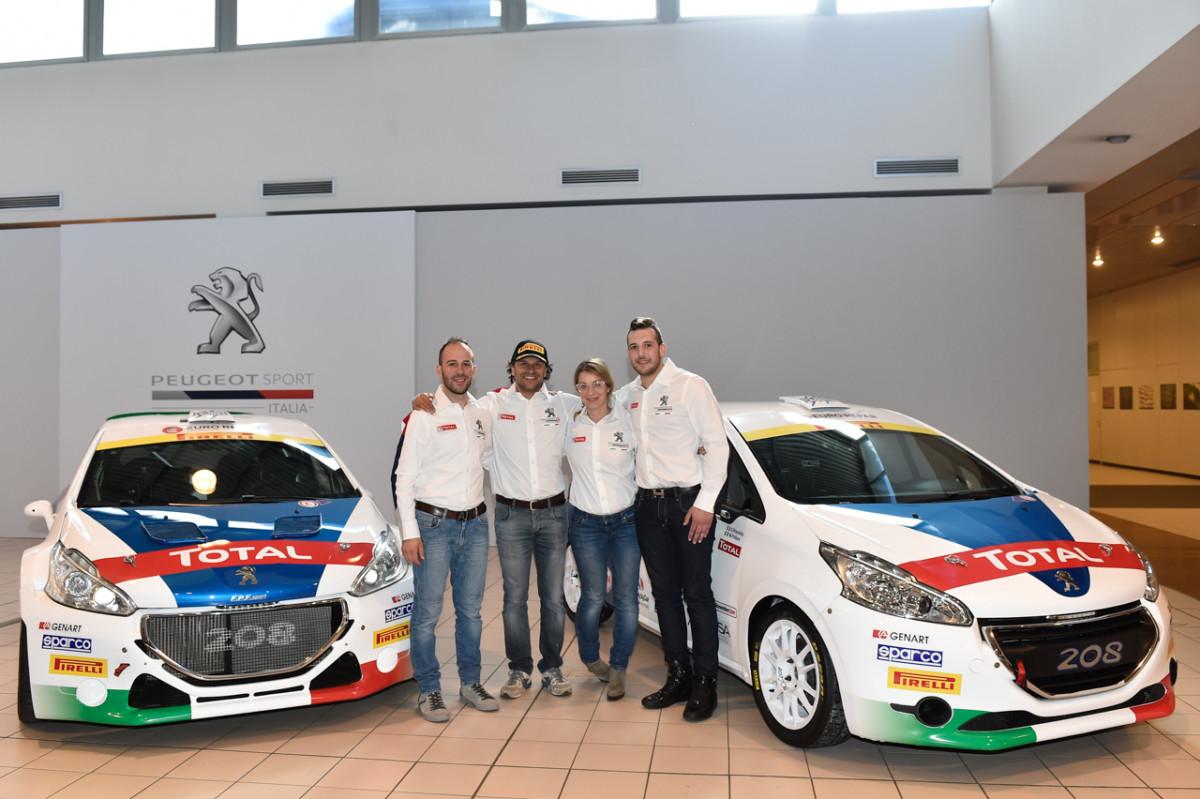 Peugeot Sport Italia: l'attacco al 2017 parte da Il Ciocco