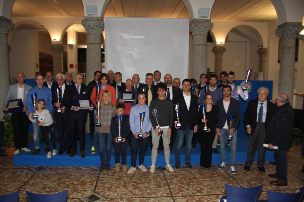AC Milano: la premiazione degli sportivi 2016