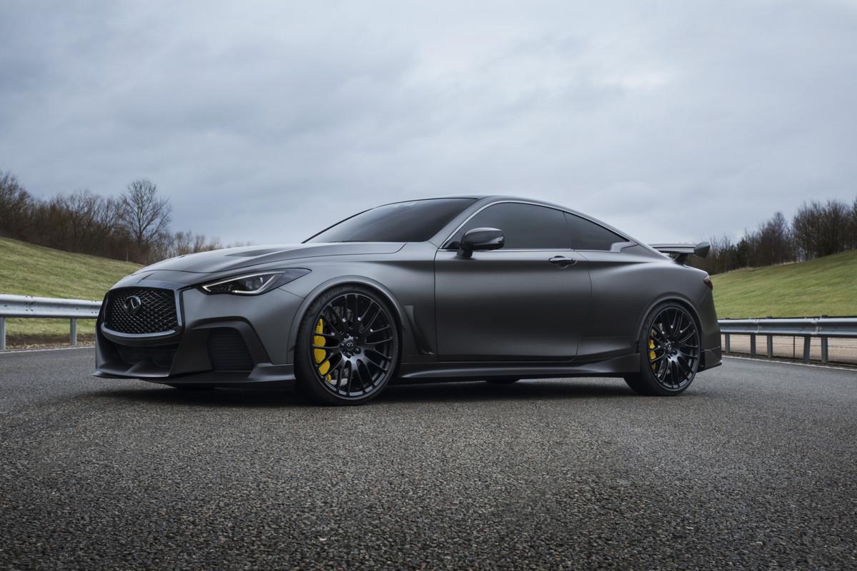 INFINITI Project Black S: ispirata alla F1