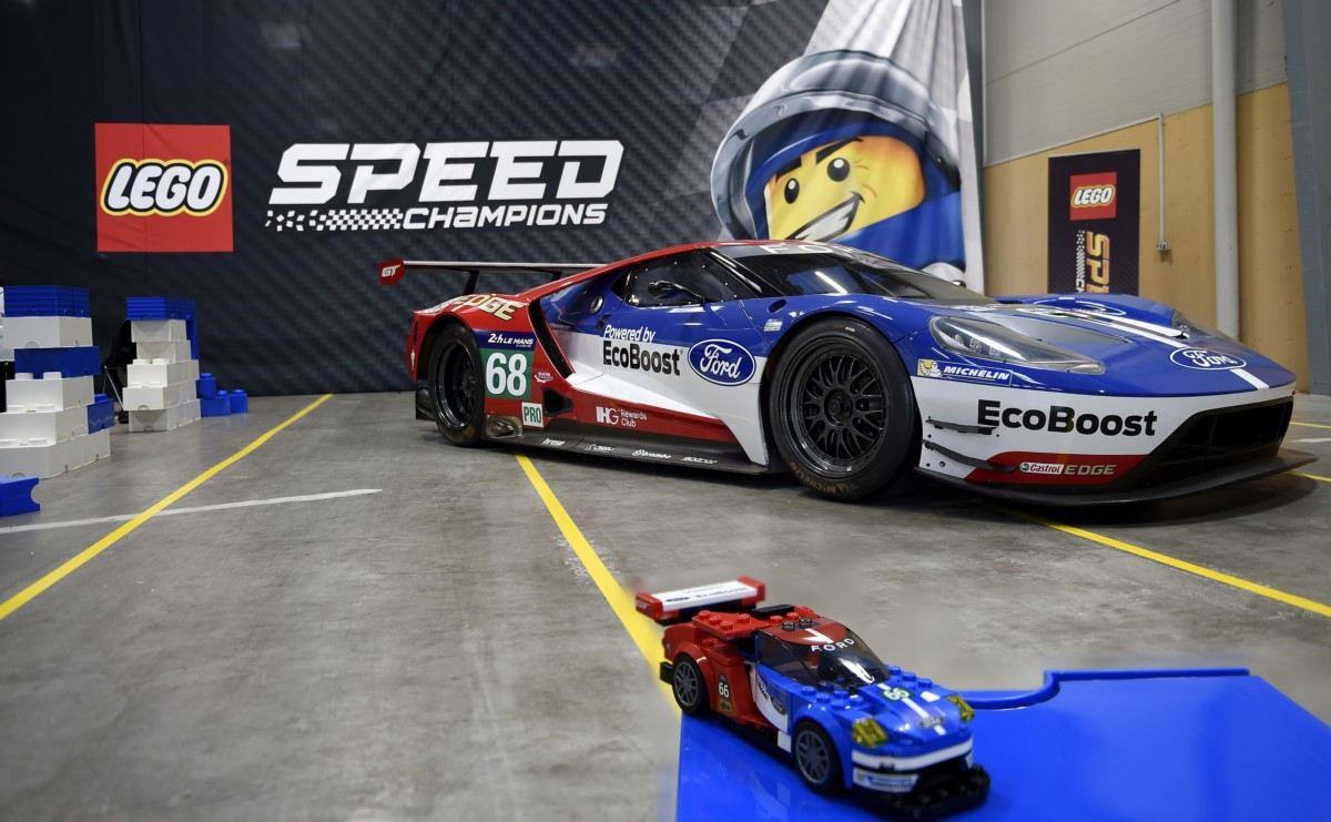LEGO Speed Champions celebra le vittorie Ford a Le Mans