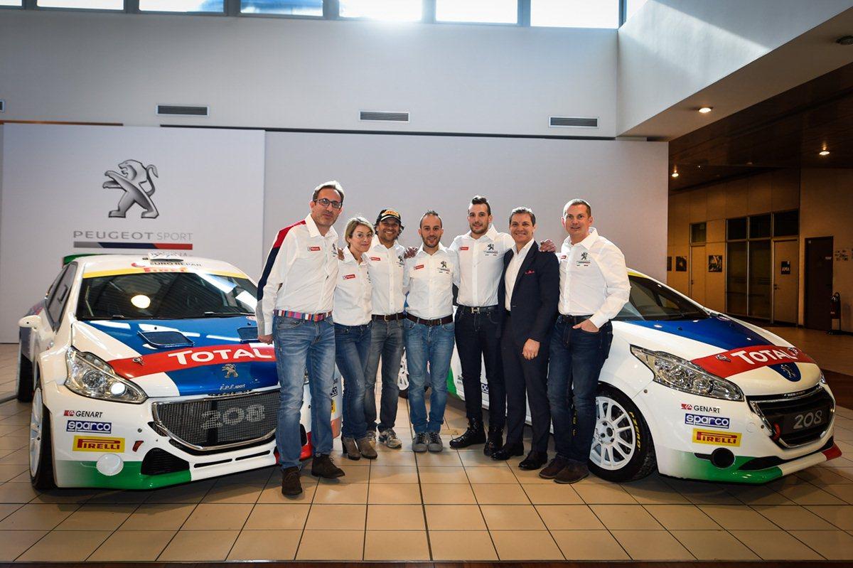I Leoni di Peugeot Italia pronti per la stagione motorsport 2017