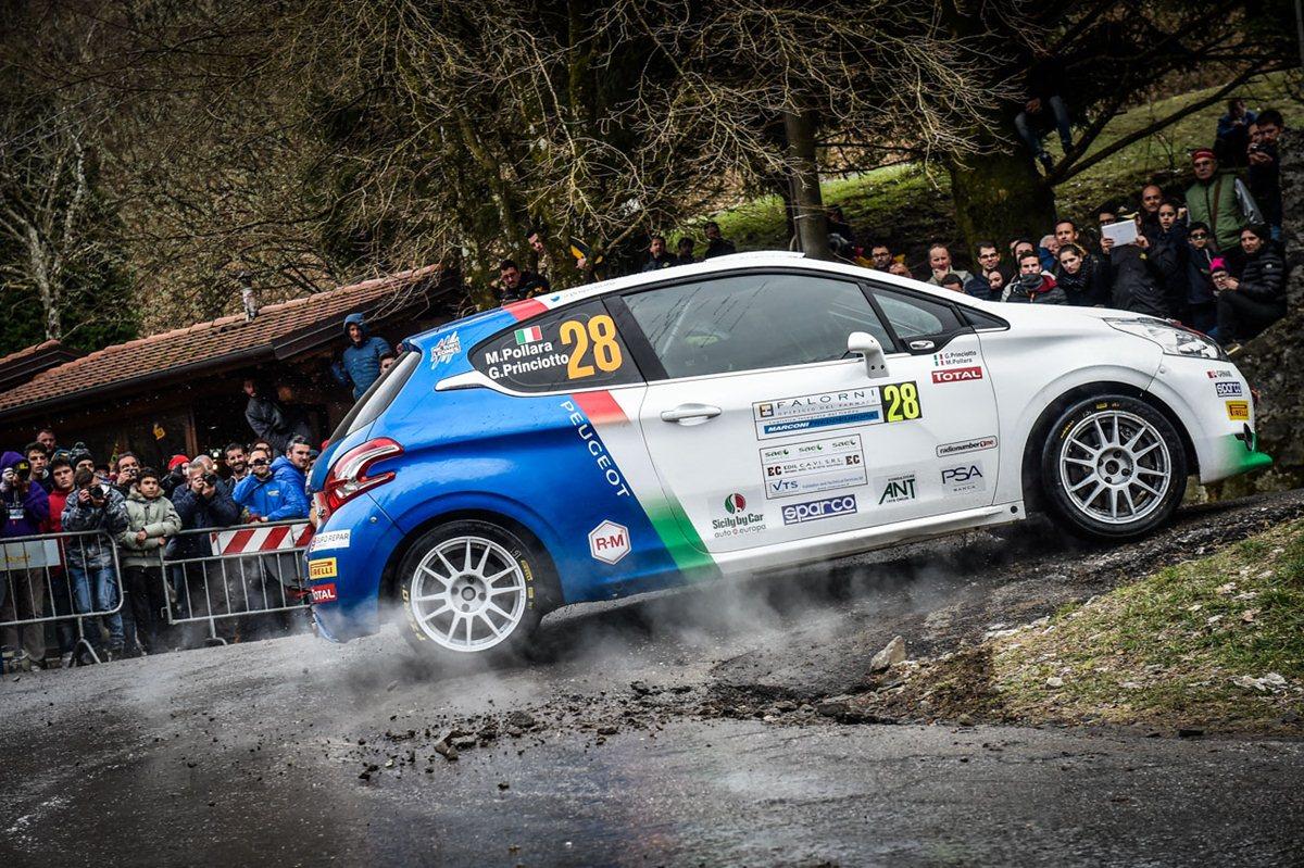 Il Peugeot Competition 208 Top parte dal Rallye di Sanremo