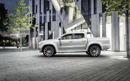 Concept X-CLASS: il primo pick-up Mercedes