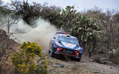 Terzo posto per Neuville e Hyundai in Messico