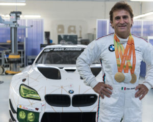 Due triathlon per l'ambasciatore BMW Alex Zanardi