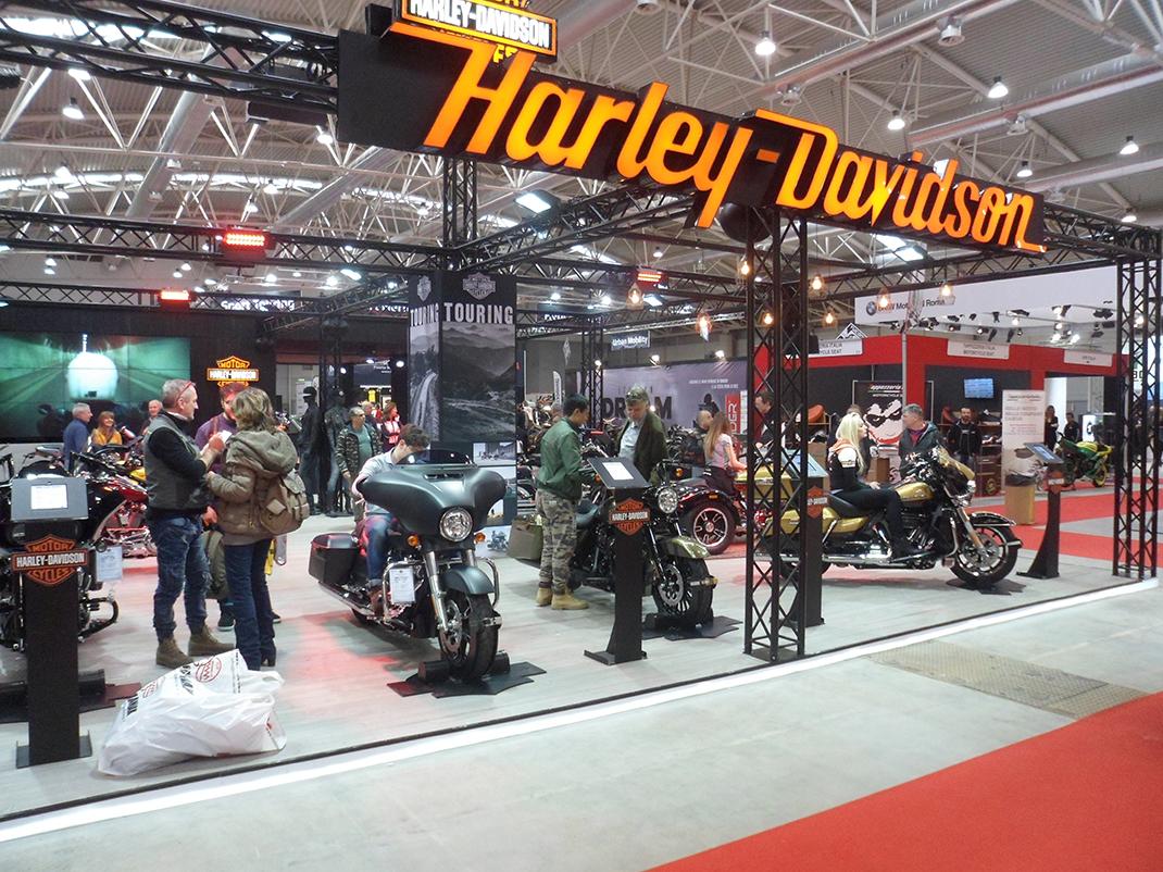 Harley-Davidson ai Roma Moto Days