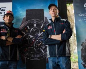 Per i piloti Toro Rosso sfida a tempo con Casio