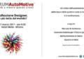 Le grandi firme del design a #FORUMAutoMotive
