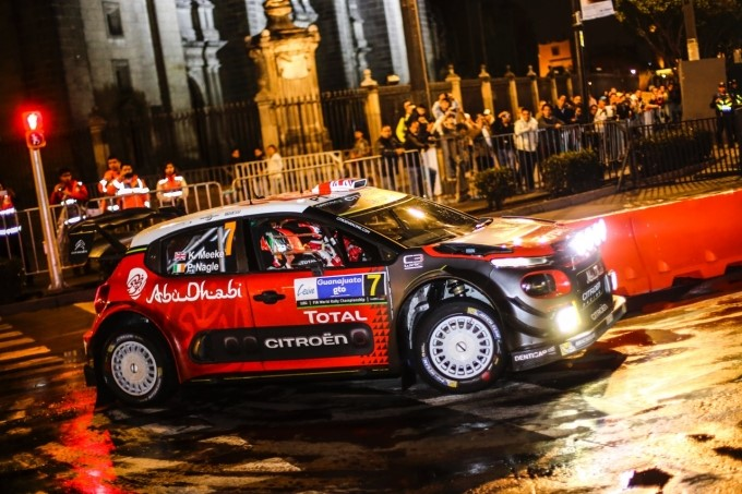 Partenza lanciata per la Citroën C3 WRC in Messico