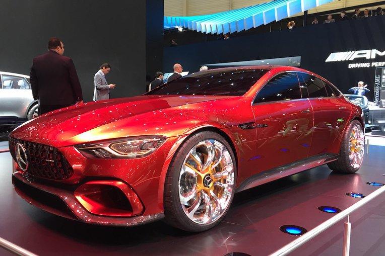 Mercedes-AMG presenta la showcar GT Concept