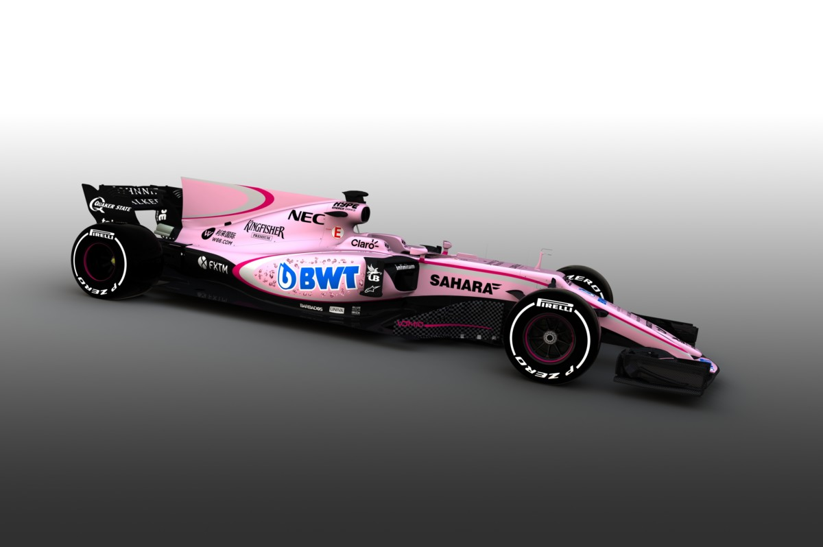 Sahara Force India: accordo con BWT e la VJM10 diventa rosa!