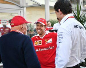 Lauda e Wolff divisi sull'interesse Mercedes per Vettel