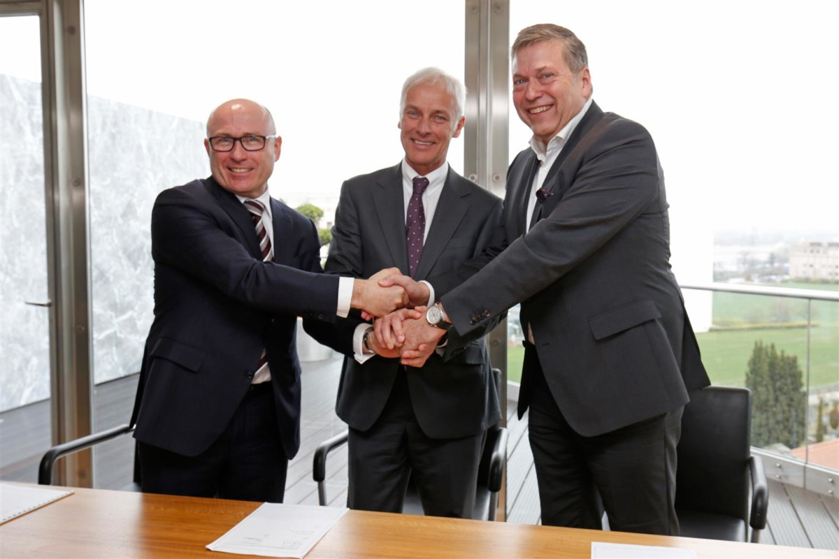 Memorandum d'intesa tra Volkswagen e Tata
