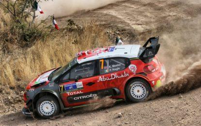 Messico: Meeke e Citroën C3 WRC leader dopo la 2° tappa