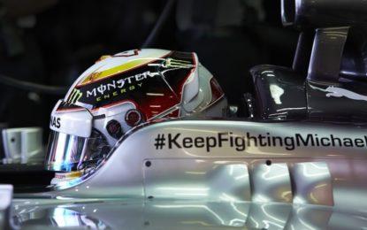 La Mercedes spiega la rimozione del richiamo a Schumacher