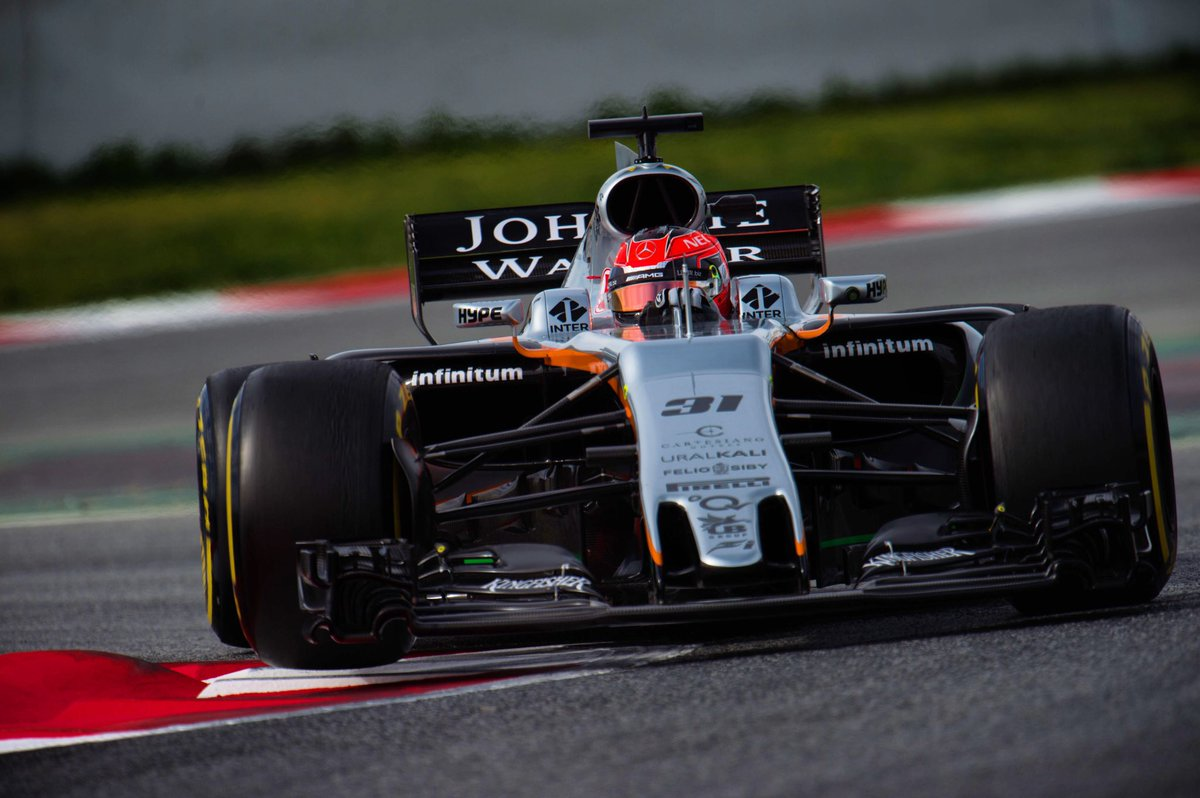 Force India a rischio di livrea rosa!