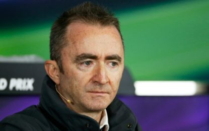 Williams nomina Paddy Lowe Chief Technical Officer