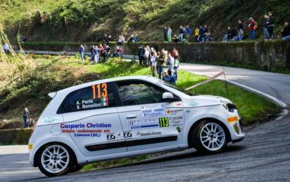 Trofei Renault Rally: vittorie di Paris e Gilardoni al Ciocco