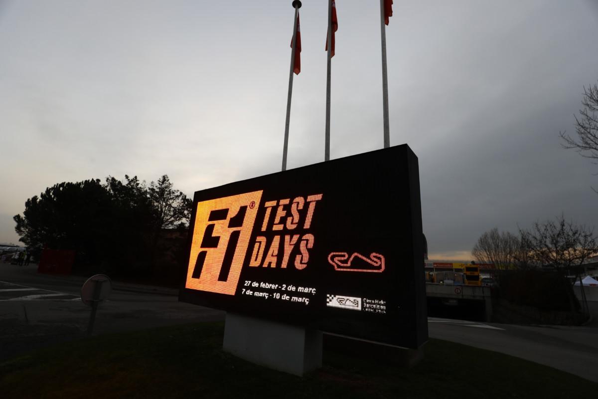 Test F1: a Barcellona via alla seconda sessione