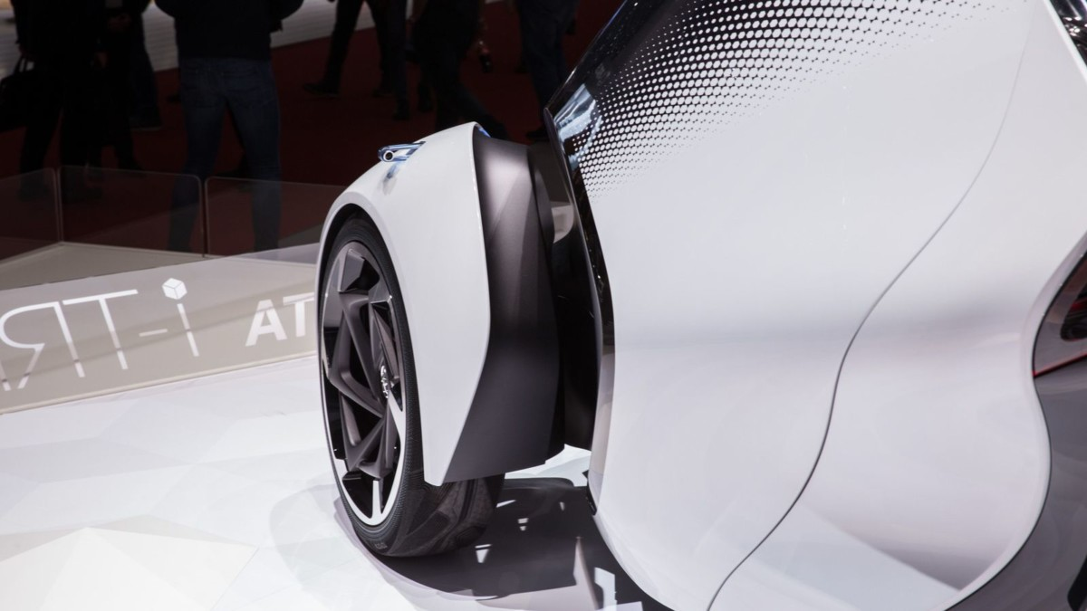 Goodyear CityCube per il concept Toyota i-TRIL