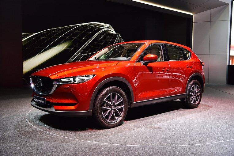 Nuovo Mazda CX-5 in anteprima europea