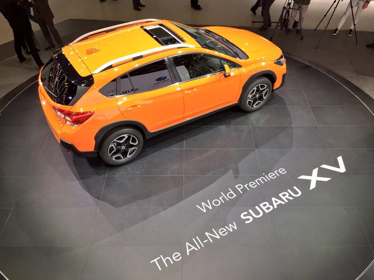 Nuova SUBARU XV: compatta, versatile, sportiva