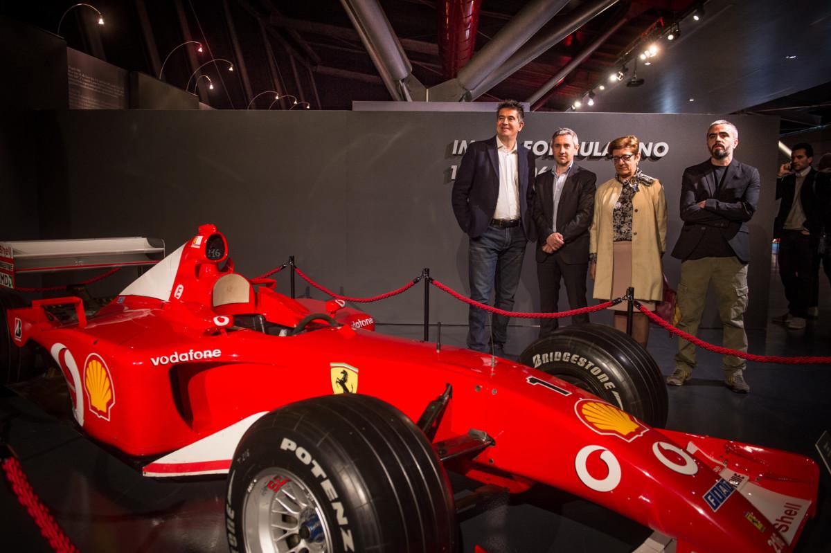 """Inaugurata la mostra """"Imola Formula Uno 1963-2006: la storia continua"""""""