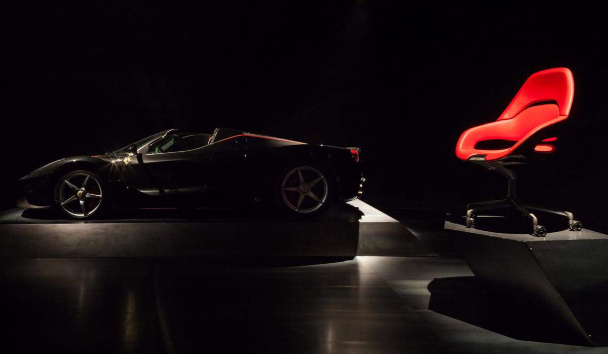Da Ferrari e Poltrona Frau la seduta da ufficio Cockpit