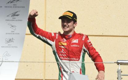 Formula 2: vittoria di Leclerc in Gara 2
