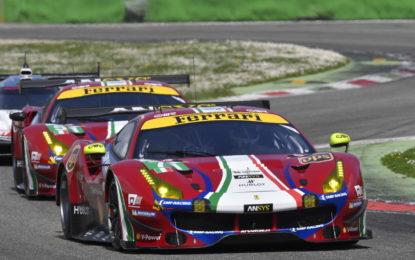 WEC: la Ferrari vuole riconquistare Le Mans