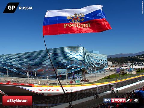 GP di Russia: da oggi via al weekend, gli orari TV