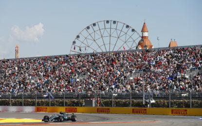 GP Russia: un solo pitstop per quasi tutti i piloti