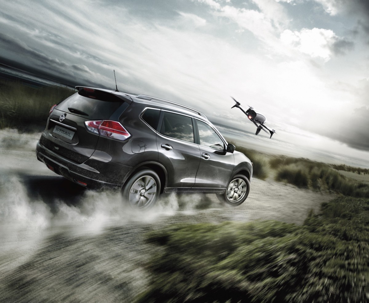Nissan X-Trail X-Scape: il crossover si dota di un drone!