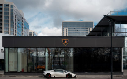Lamborghini: primo showroom a San Pietroburgo